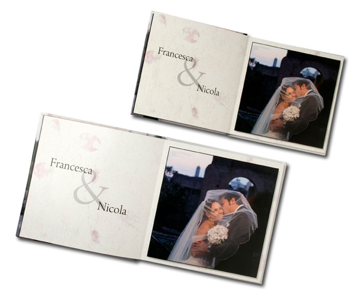 Fotolibro per matrimonio for Album foto matrimonio