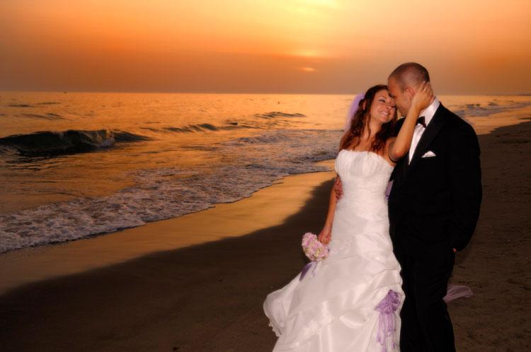 Matrimonio In Spiaggia Al Tramonto : Foto sant aurea ostia antica matrimonio