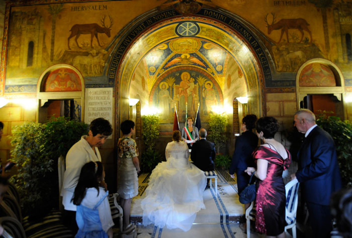 Foto matrimonio villa lais